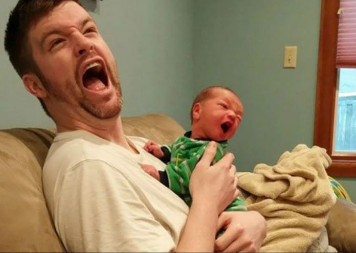 dad-and-baby-comedy-images